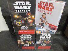 Star Wars Destiny Combo Empire at War/Spirit/Awakenings Boxes + 2 Player