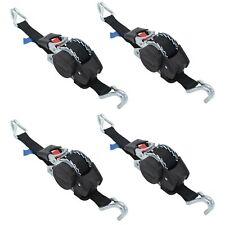 4 x Automatik Spanngurt LC 300/600 daN 3 Meter 25mm selbstaufrollend Zurrgurt 3m