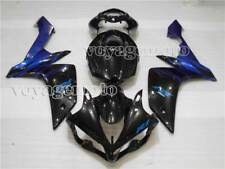 Black Blue Complete Fairing Injection Fit for 2007-2008 YAMAHA YZF R1 Mold m#06