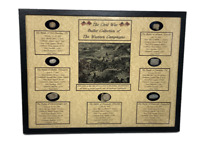 The Civil War Bullet Relic Collection of The Western Campaigns with Case & COA