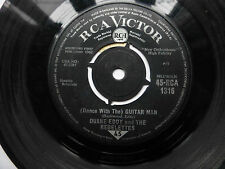 """Duane Eddy & The Rebelettes (Dance With The) Guitar man 1962 7"""" Vinyl."""