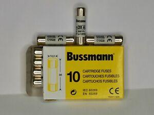 Bussmann 500V C10G20 20A 10*38mm Class IEC60269 Industrial Ferrule Fuse 10XNEW