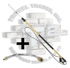 24' Aluminum Telescoping Pressure Washer Wand Super HD With Gutter Cleaner