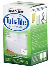 Rust-Oleum Tub & Tile Refinishing 2 Part Kit White 7860519 32 oz Rustoleum