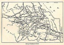 1915 Westgalizien * Karte zum Durchbruch bei Gorlice * WW 1