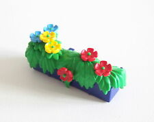 PLAYMOBIL (4615) SYSTEMx - Jardinière Bleue avec Fleurs Fenêtre Maison 3965 3988