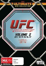 UFC Ultimate Collection Vol 2 (DVD, 5-Disc Set) UFC 43 to UFC 47 R4 NEW/SEALED