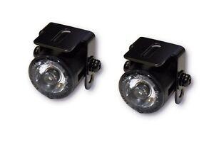 Mini universal LED Tagfahrlicht Standlicht Positionslicht DRL Motorrad ATV Quad