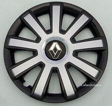 "Set of  4x 16"" wheel trims to fit Renault Trafic, Laguna, Scenic"