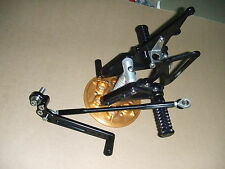 CNC Adjustable Pegs Rear Sets footpegs GSXR 600 750 06-09
