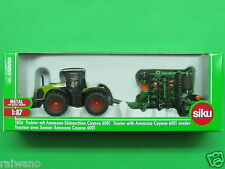 1:87 Siku Farmer 1826 Claas Xerion 5000 mit Sämaschine Amazone Cayena 6001