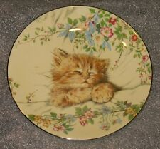 Royal Worcester England Cat Nap Mint