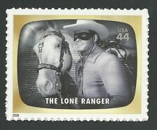 The LONE RANGER Clayton Moore Jay Silverheels Tonto Horse Silver TV Stamp MINT !