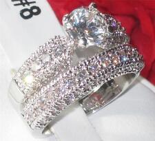Modeschmuck-Ringe im Ehering-Stil aus Edelstahl