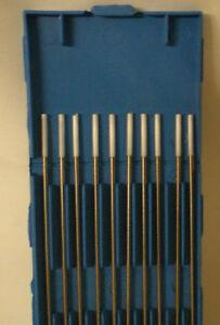 Zirconiated Tungsten Electrode Tig Welding White Tip 1.0mm x 150mm (Pkt/10)