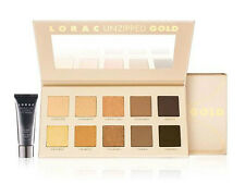 LORAC GOLD Unzipped Shimmer & Matte Eyeshadow Palette w/ Mini Eye Primer