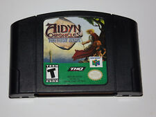 N64 Aidyn Chronicles: The First Mage (Nintendo 64, 2001) Game
