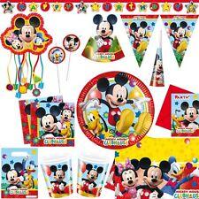 Set decorazione feste compleanni topolino pluto minnie