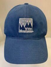 White Mountains Golf Club Baseball Cap Stretch Fit Hat Blue Men L Xl By Ping