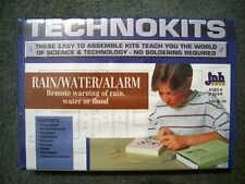 Unbuilt SCIENCE electronics PROJECT KIT set RAIN - WATER ALARM model toy lab