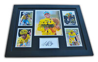 Vincenzo Nibali Signed Photo Large Framed Tour de France 2014 Autograph Display