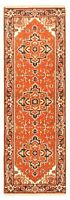 """Vintage Hand-Knotted Carpet 2'7"""" x 7'10"""" Traditional Oriental Wool Area Rug"""