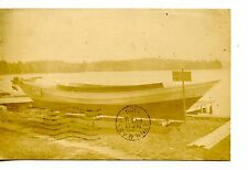 Small Boat For Sale-Somerville-Massachusetts-RPPC-Real Photo Vintage Postcard
