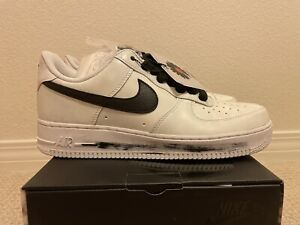 NIKE AIR FORCE 1 LOW G-DRAGON PEACEMINUSONE PARANOISE WHITE Sz US 10.5