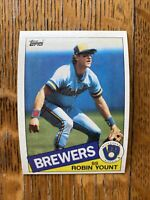 1985 MILWAUKEE BREWERS Topps COMPLETE MLB Team SET 29 Cards YOUNT FINGERS SUTTON
