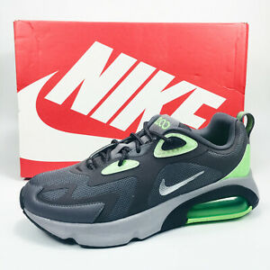 Nike Air Max 200 WTR Running Low Top Shoes Men's Grey / Green BV5485-002 NEW