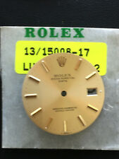 Quadrante - Dial Rolex Date 15xxx Champagne Yellow Gold Index 34mm