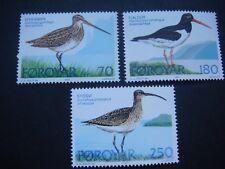 Faroe Islands 1977 Birds  set of 4 pairs  MNH  SG 27-29