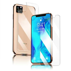 Full Cover Front & Back Tempered Glass For iPhone 11 Pro 9H