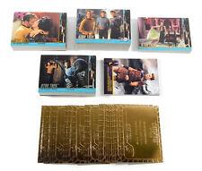 1998 Skybox Star Trek TOS Season 2 Base + (4) Insert Sets ^ Gold Plaque G30-G55