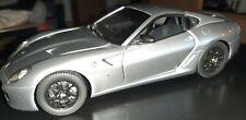 MATTEL/Hotwheels ELITE Ferrari 599 GTB 1:18 /Silber