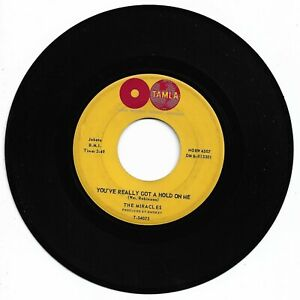 THE MIRACLES - YOU REALLY GOT A HOLD ON ME - TAMLA - VG+