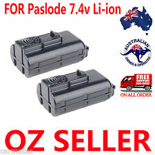 2 Batteries For Paslode 7.4V Nail Gun 1.5Ah Li-ion B20543 CF325Li 902654 902600
