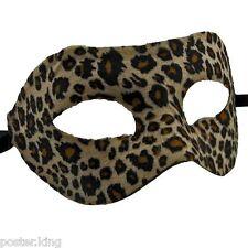Cheetah Jaguar Leopard Venetian Masquerade Mardi Gras Ball Face Eye Mask Party