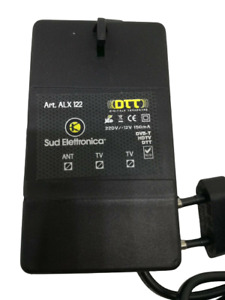 Alimentatore retro TV Stabilizzato 12v 150mA 2 uscite  DTT DVB-T HDTV Led ALX122