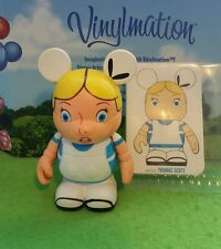 "Disney Vinylmation 3"" Park Set 1 Animation Alice in Wonderland with Card"