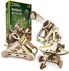 Construction Model Kit – Build 3 Wooden 3D Puzzle Models, Learn