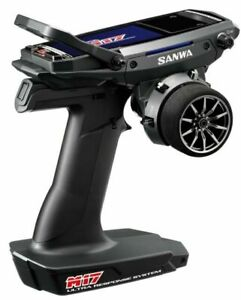 Sanwa M17 FH5 4 Channel 2.4GHz Radio System With New RX-493 Receiver