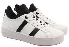 Zapatillas para mujer 43 R 0 Michael Kors acfs 2L Blanco Cuero Raya Ace