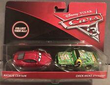 CARS 3 - NATALIE CERTAIN & CHICK HICKS HEADSET - Mattel Disney Pixar