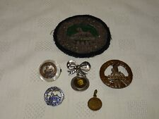 Collection Of WW2 World War 2 South Wales Borderers Badges - Cap Sweetheart ETC