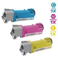 3PK COLOR Toner Set for Dell Color Laser 2130cn 2135cn CMY High Yield Cartridges