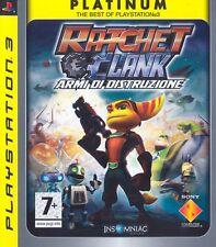 Platinum Ratchet & Clank: Armi di Distruzione PS3 - totalmente in italiano