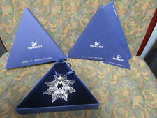 Swarovski Snowflake 2003 Annual Christmas Ornament Star New in Box with Coa
