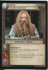 Lord Of The Rings CCG Card RotK 7.C6 Gimli, Faithful Companion