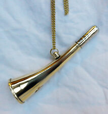 Brass Hunting Horn / Signal Horn - Lovely Tone - BNIB